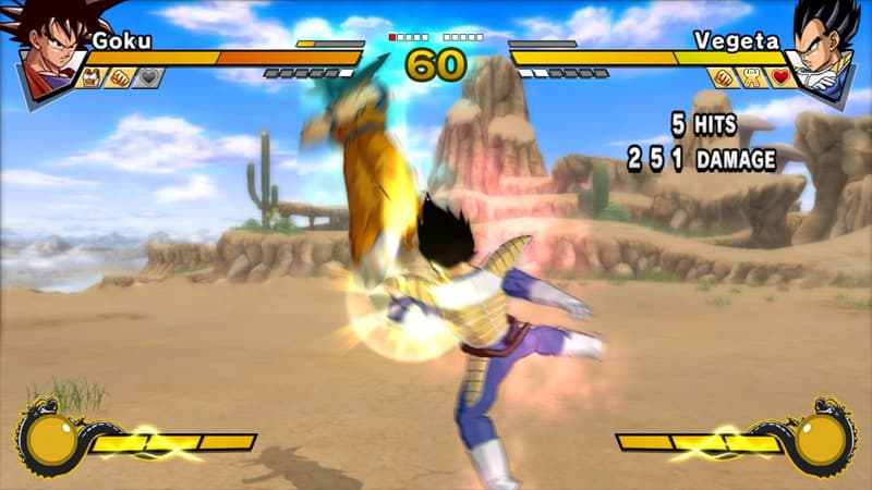 Xbox 360 Dragon Ball Z : Burst Limit