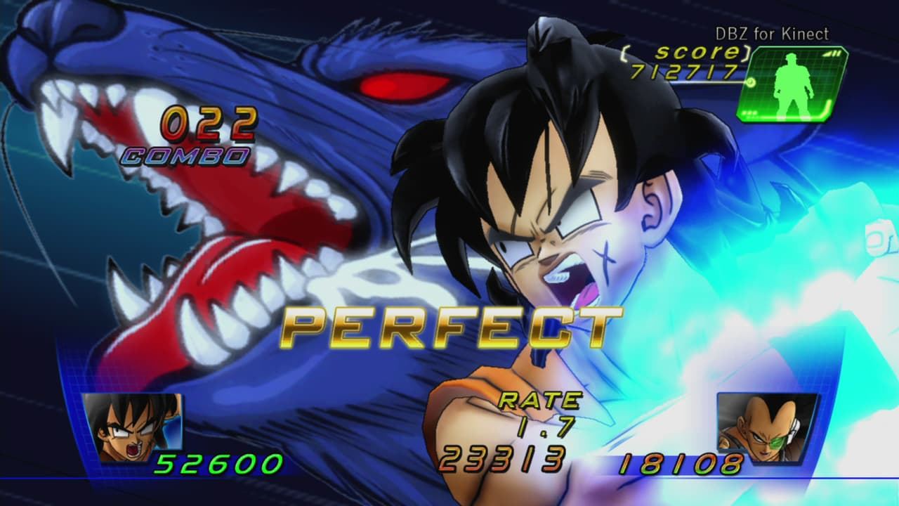 Dragon Ball Z for Kinect Xbox