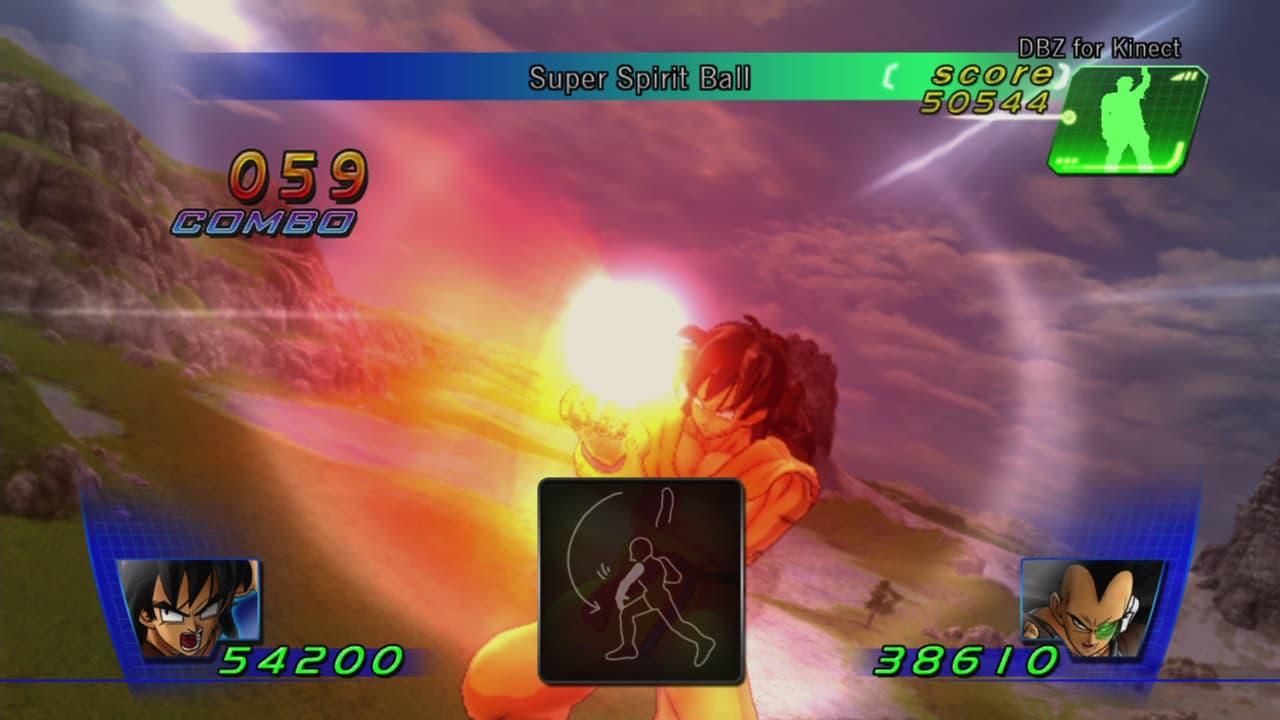 Dragon Ball Z phor Kinect