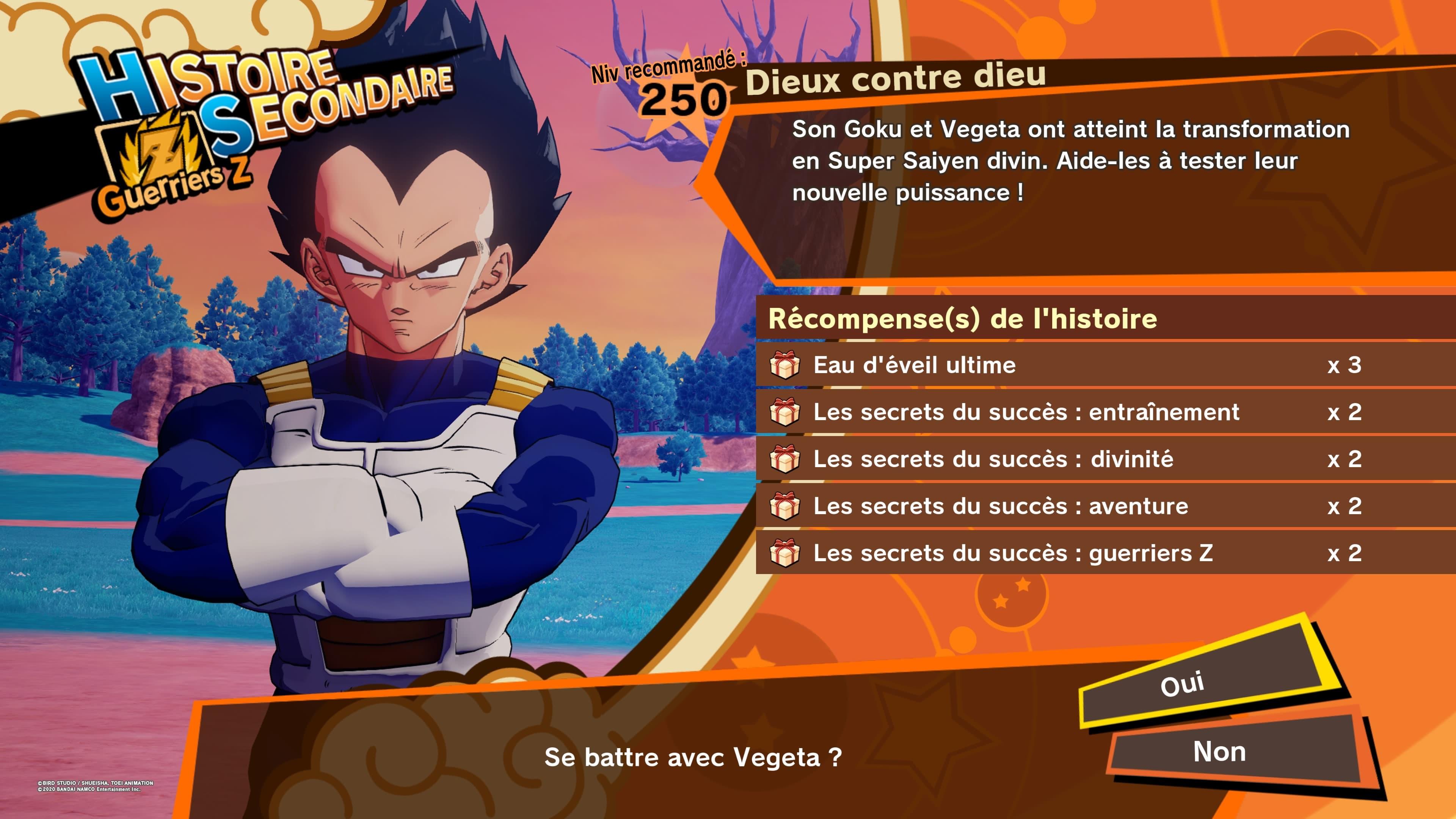 Dragon Ball Z Kakarot: Un Nouveau Pouvoir S'éveille - Partie 1