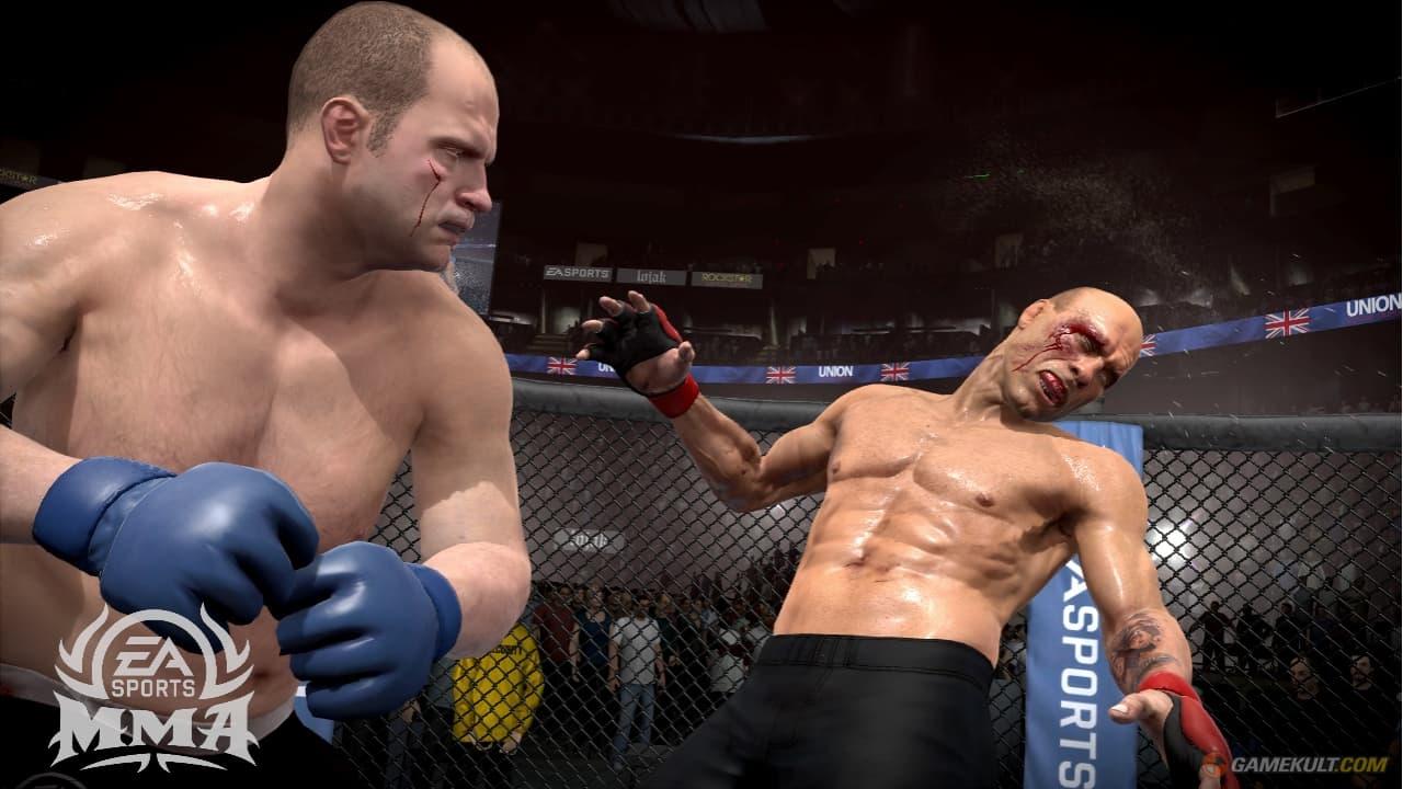 Xbox 360 EA Sports MMA