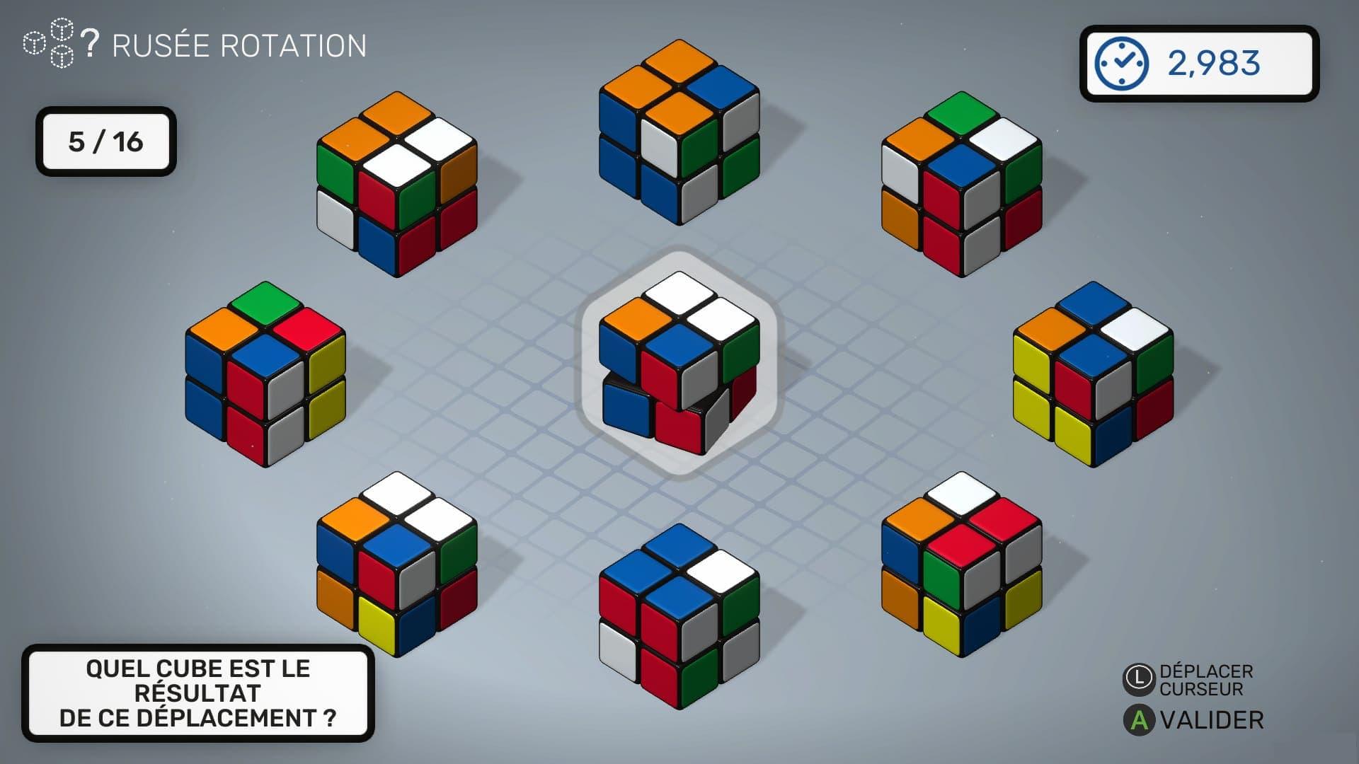 Entrainement Cérébral du Professeur Rubik Xbox One