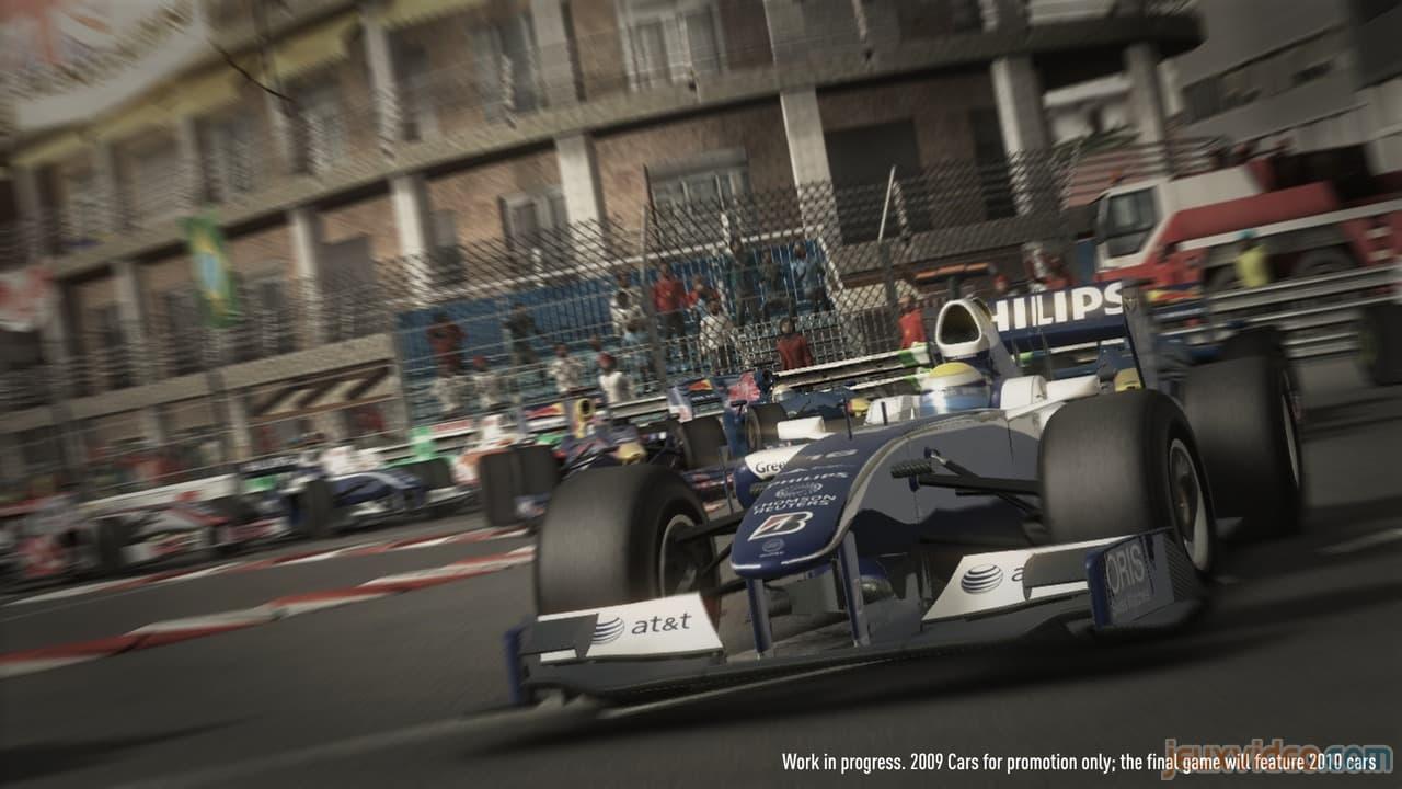 Une vidéo et quelques images pour F1 2010