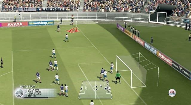 FIFA 06: En Route pour la Coupe du Monde - Image n°7