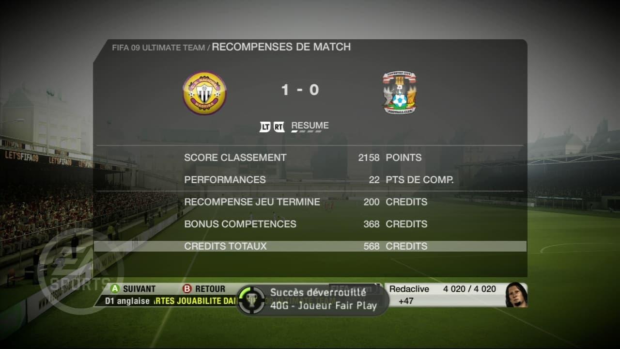 FIFA 09: Ultimate Team