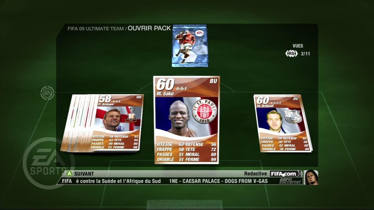 FIFA 09: Ultimate Team - Image n°6