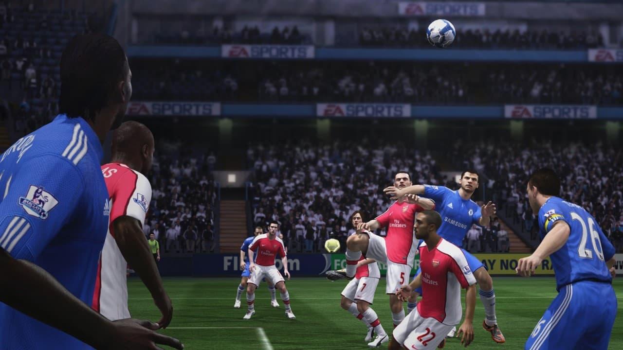 Pas de vague dans Fifa 11