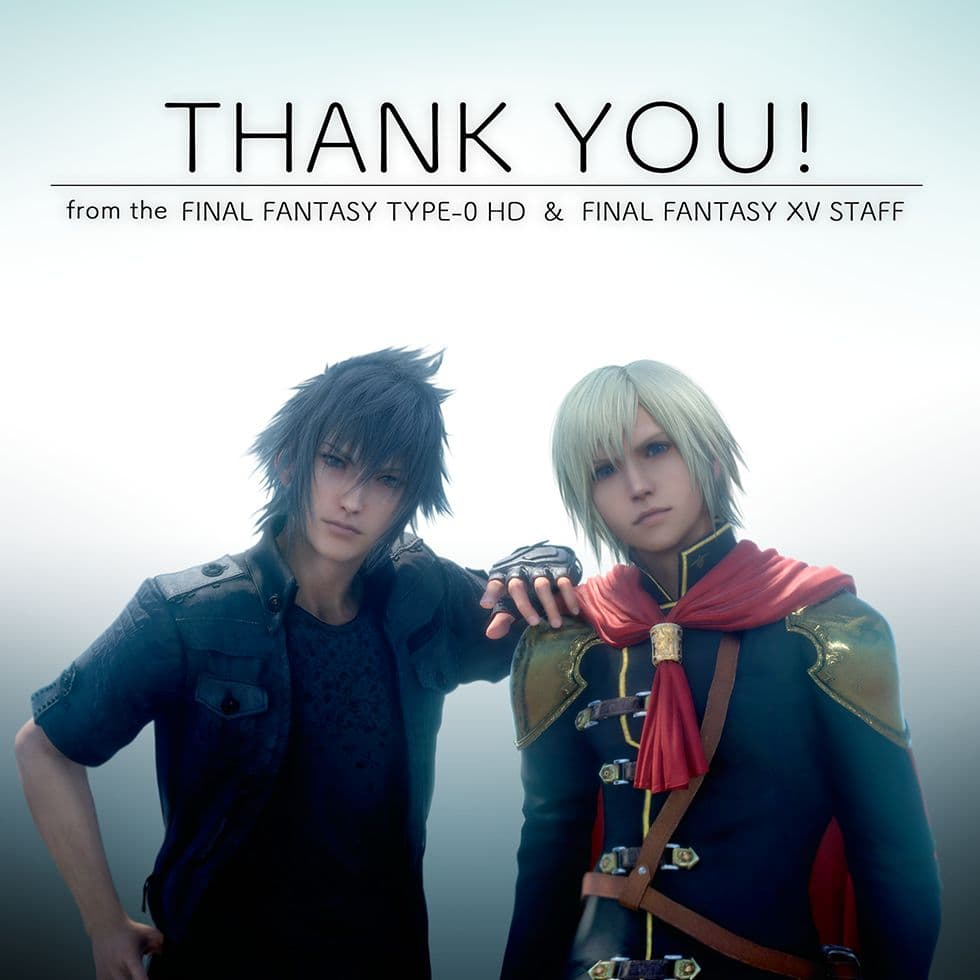 1 Million d'exemplaires pour Final Fantasy Type-0 HD