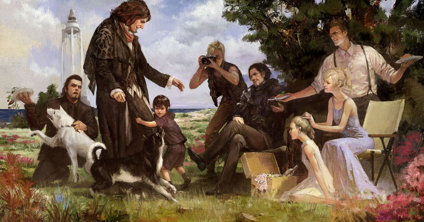 Final Fantasy XV - Episode Side Story: Aranea