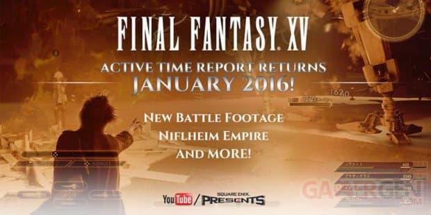 Final Fantasy XV: un point sur l'avancé du jeu en janvier