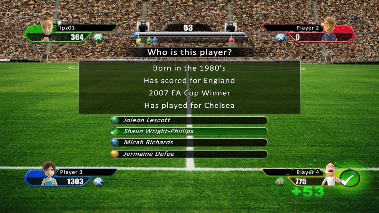 Football Genius: The Ultimate Quiz Xbox