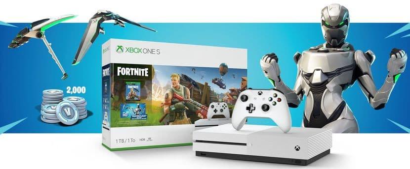 La Xbox One a aussi droit à son bundle Fortnite