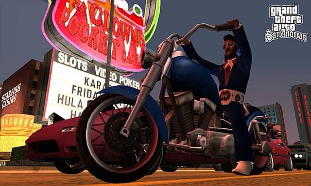 Xbox 360 Grand Theft Auto San Andreas