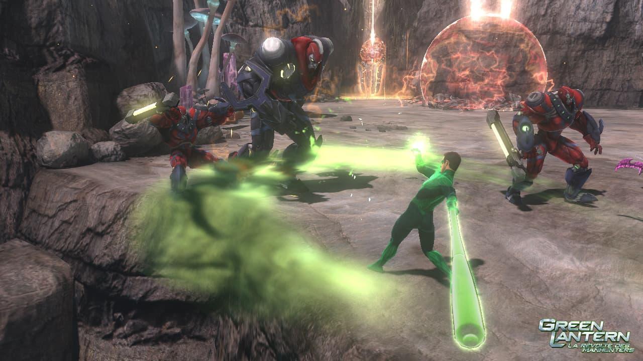 Green Lantén: La Révolte des Manhuntés