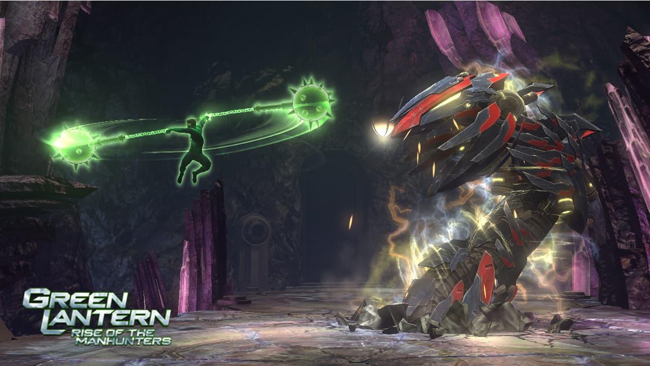 Green Lantern: La Révolte des Manhunters
