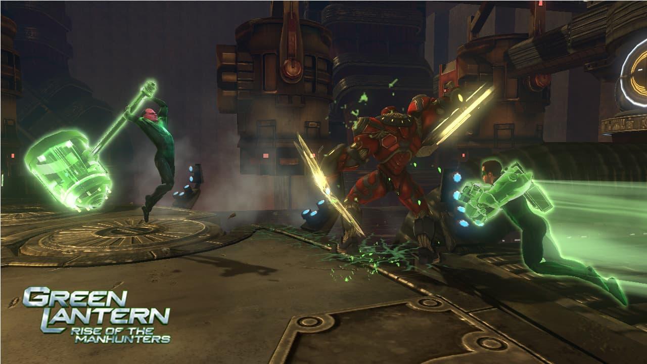 Green Lantern: La Révolte des Manhunters Xbox