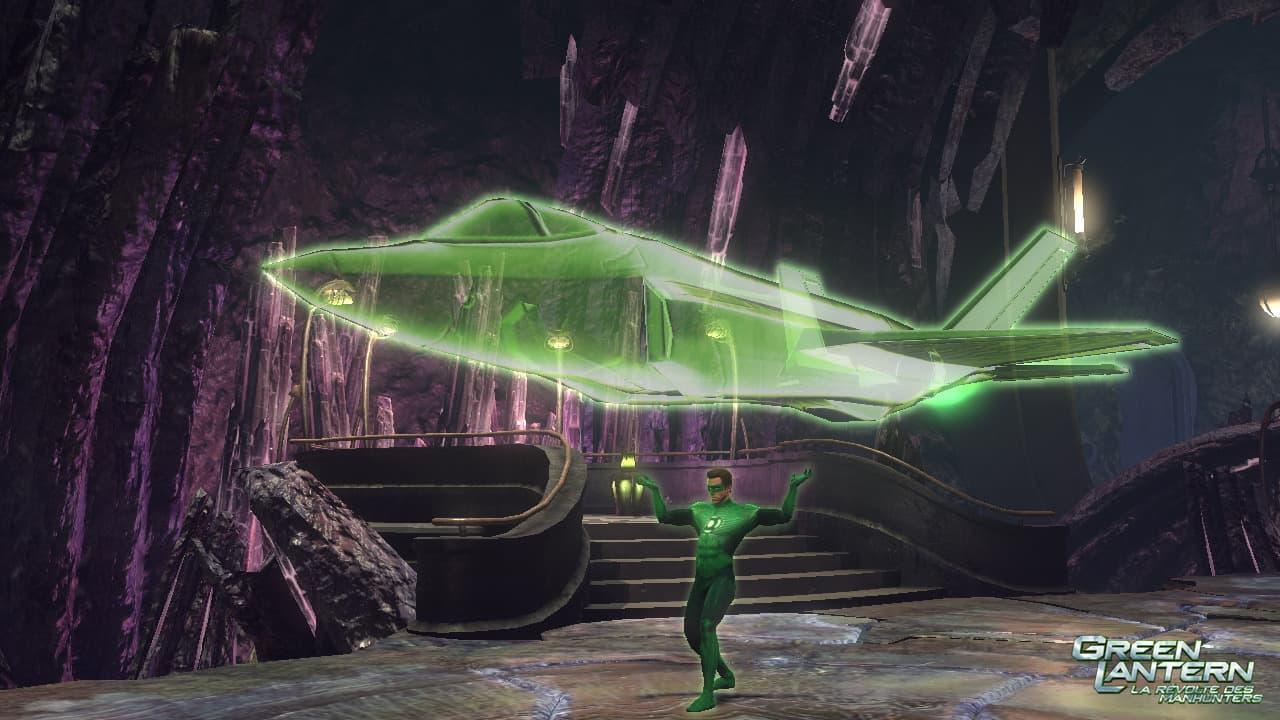 Green Lantern: La Révolte des Manhunters Xbox 360