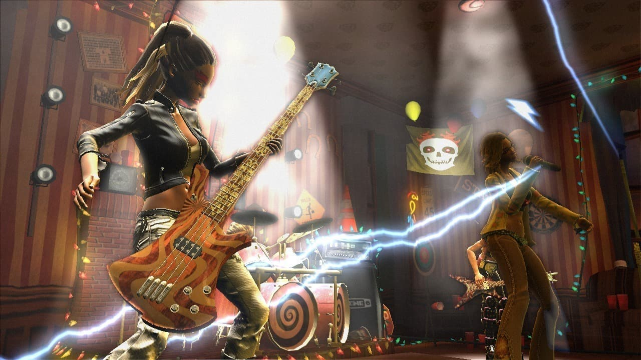 Xbox 360 Guitar Hero : World Tour