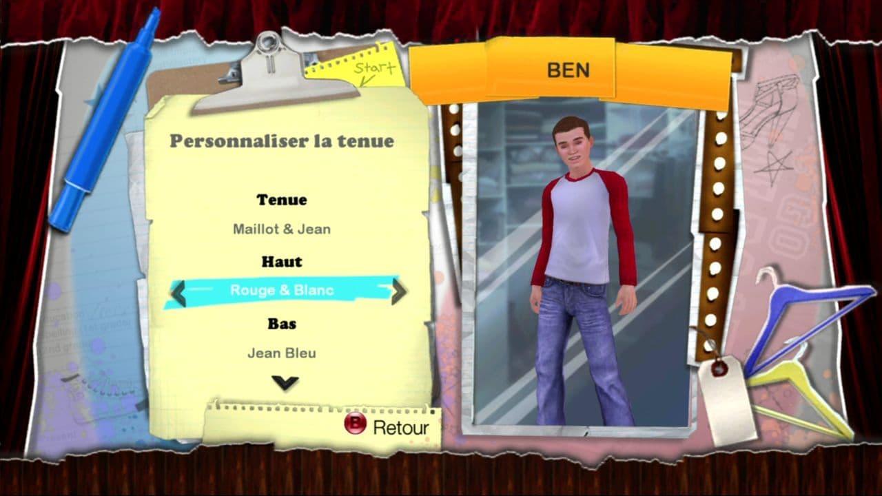 High School Musical 3 Dance! Nos Années Lycée Xbox