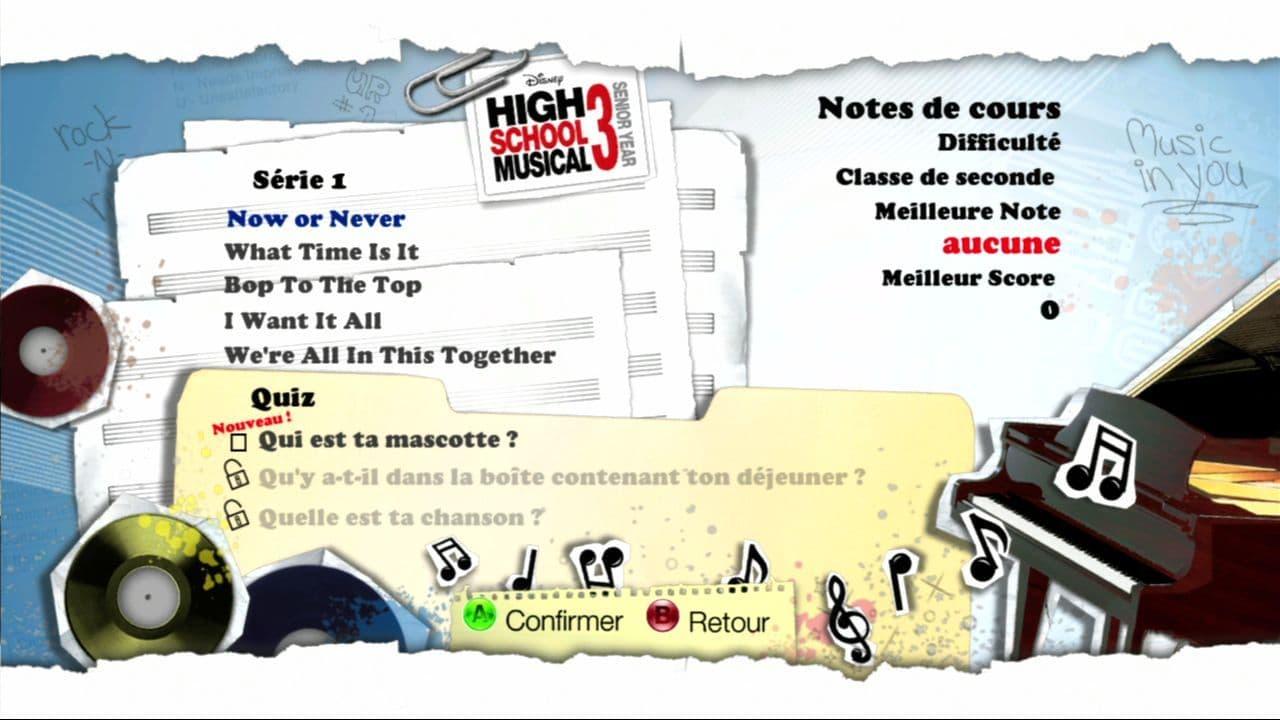 High School Musical 3 Dance! Nos Années Lycée