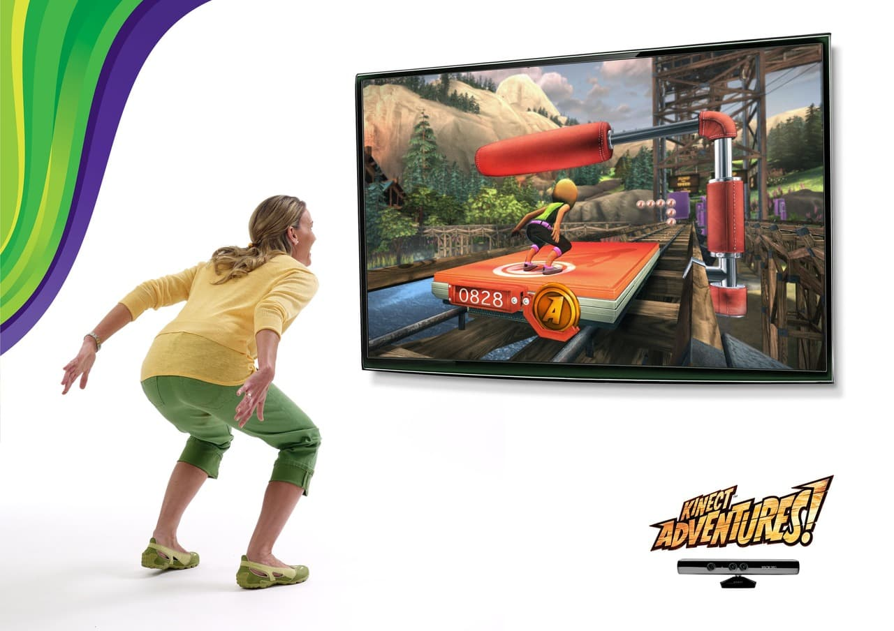 Xbox 360 Kinect Kinect Adventures