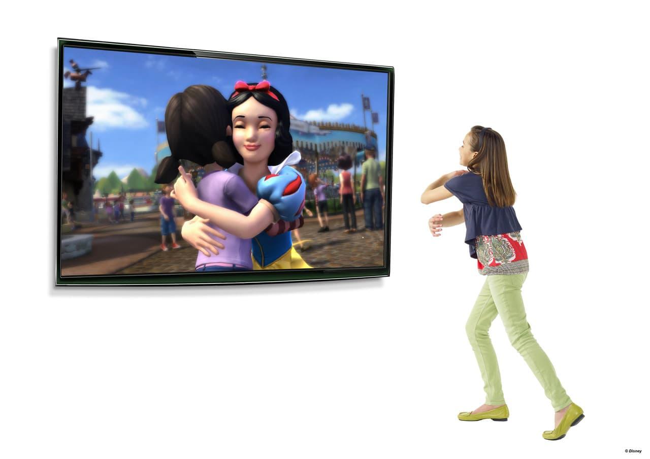 Kinect Disneyland adventures Xbox