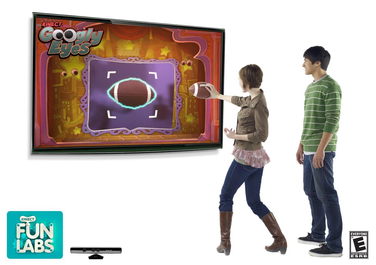 Xbox 360 Kinect Fun Labs