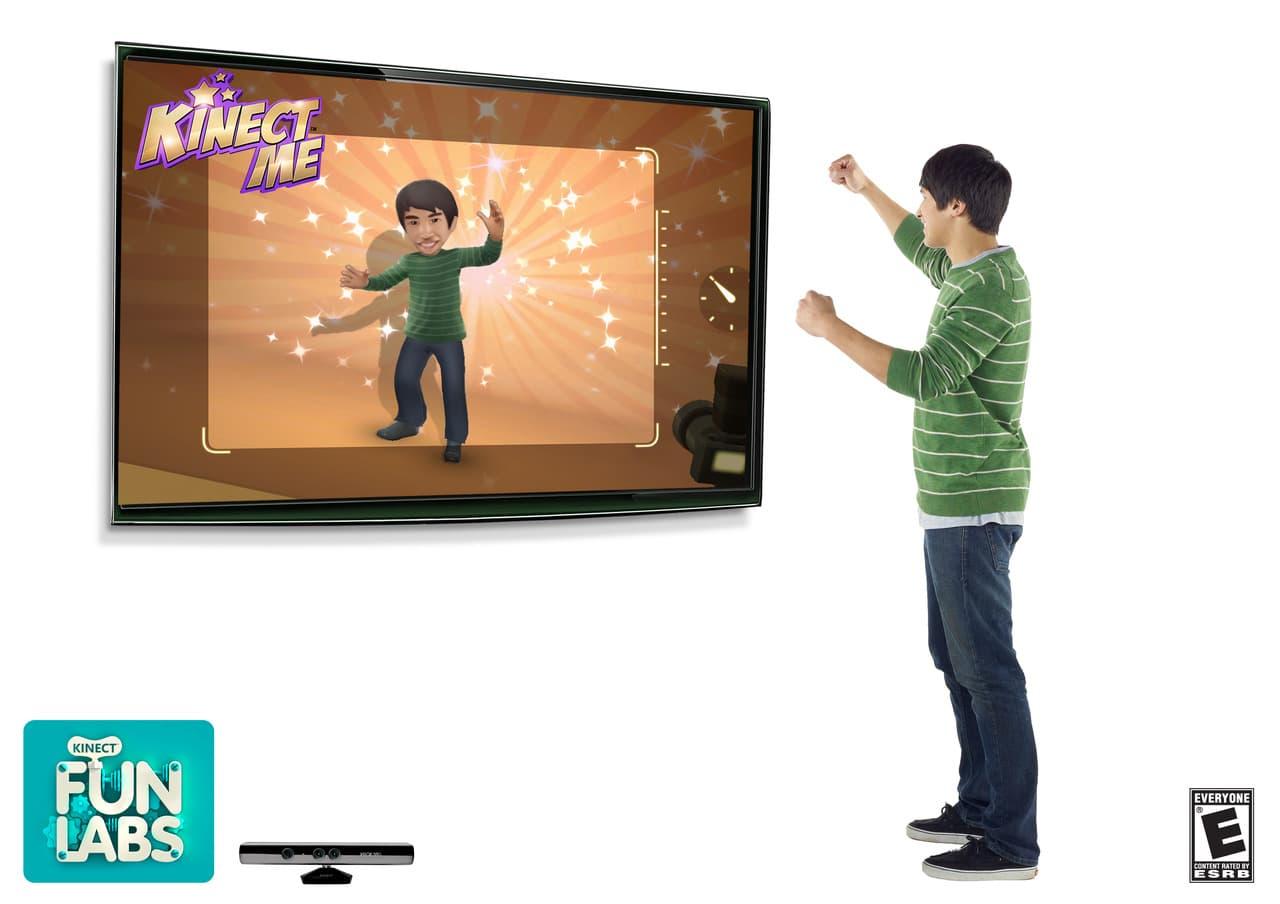 Kinect Fun Labs Xbox 360