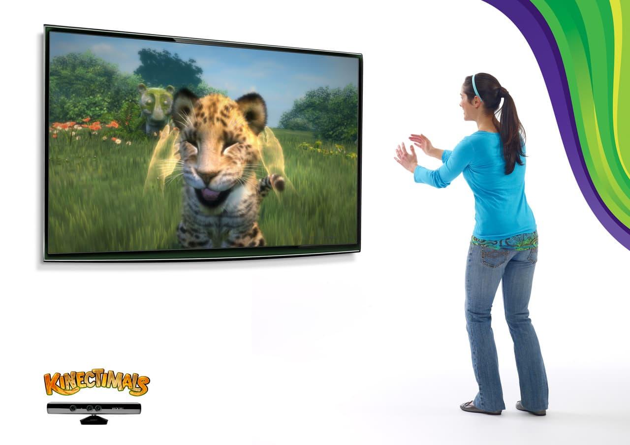 Xbox 360 Kinect Kinectimals