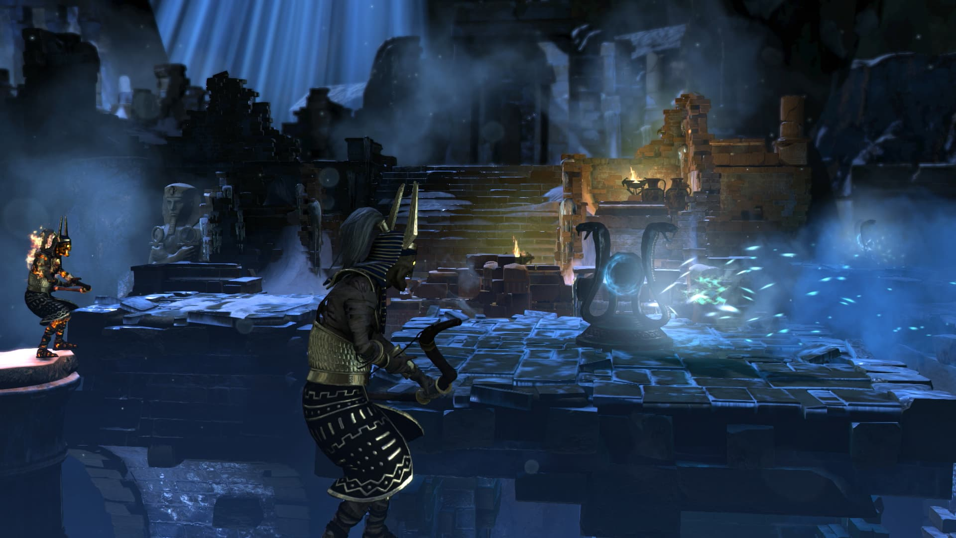 Lara Croft and the Temple of Osiris - Mort Glaciale