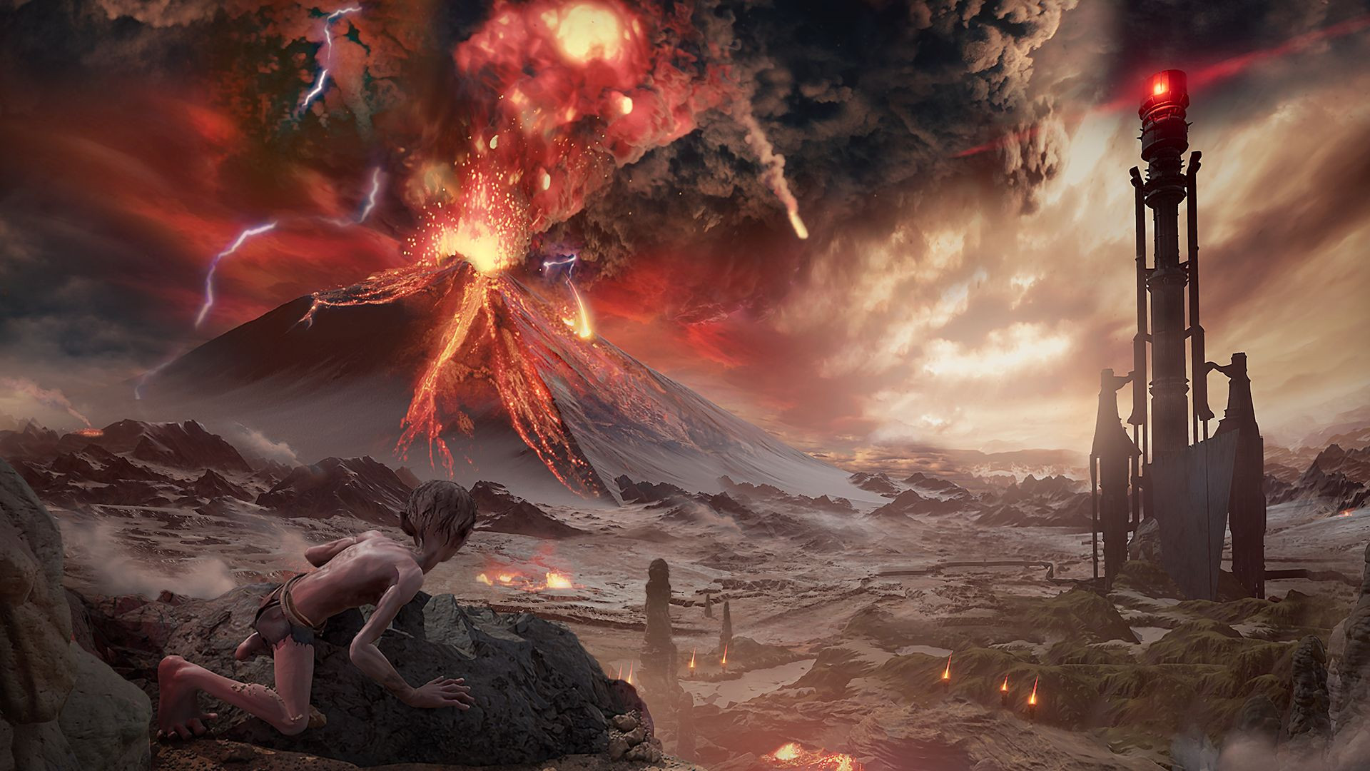 Xbox Series X & S Le Seigneur des Anneaux: Gollum