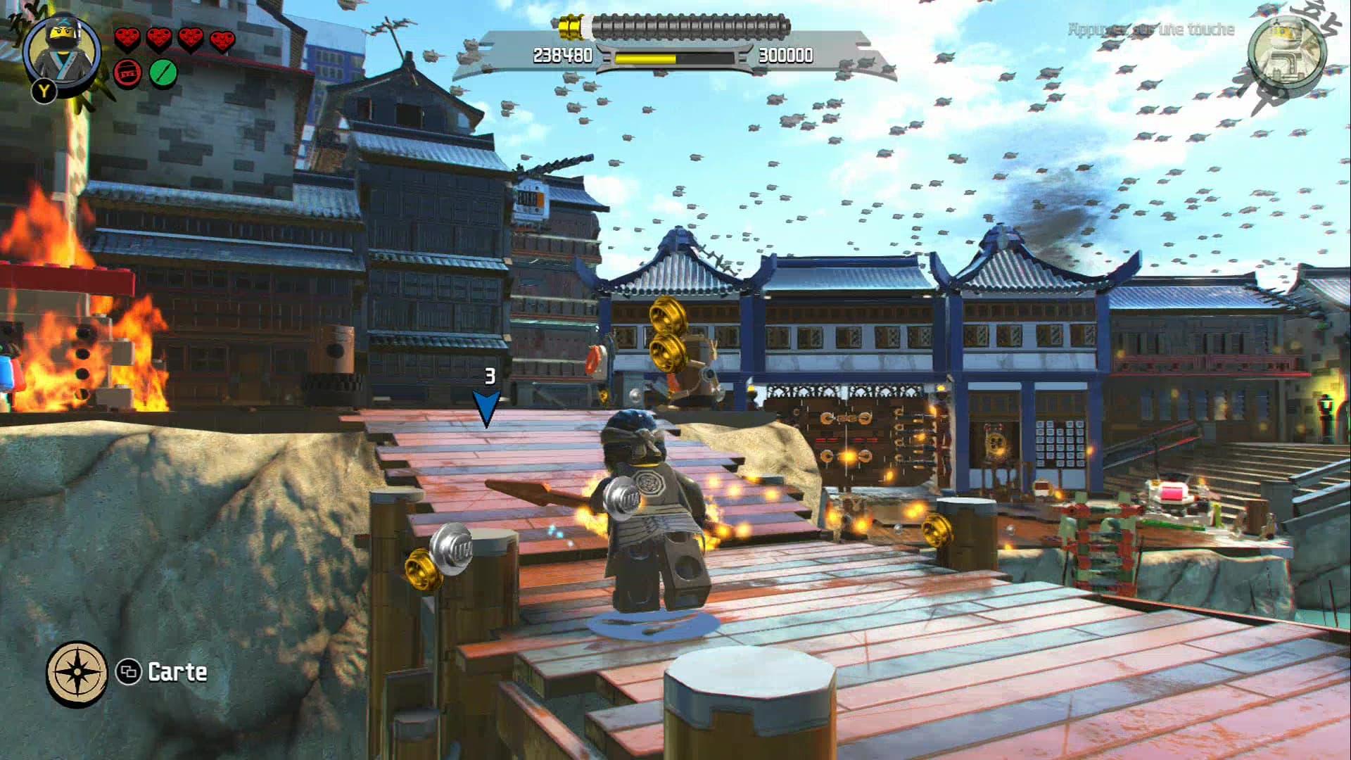 Xbox One LEGO NINJAGO, le film: le jeu vidéo