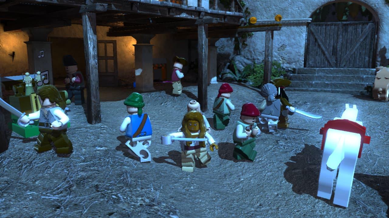 Lego Pirates des Caraïbes: Le Jeu Vidéo - Image n°8
