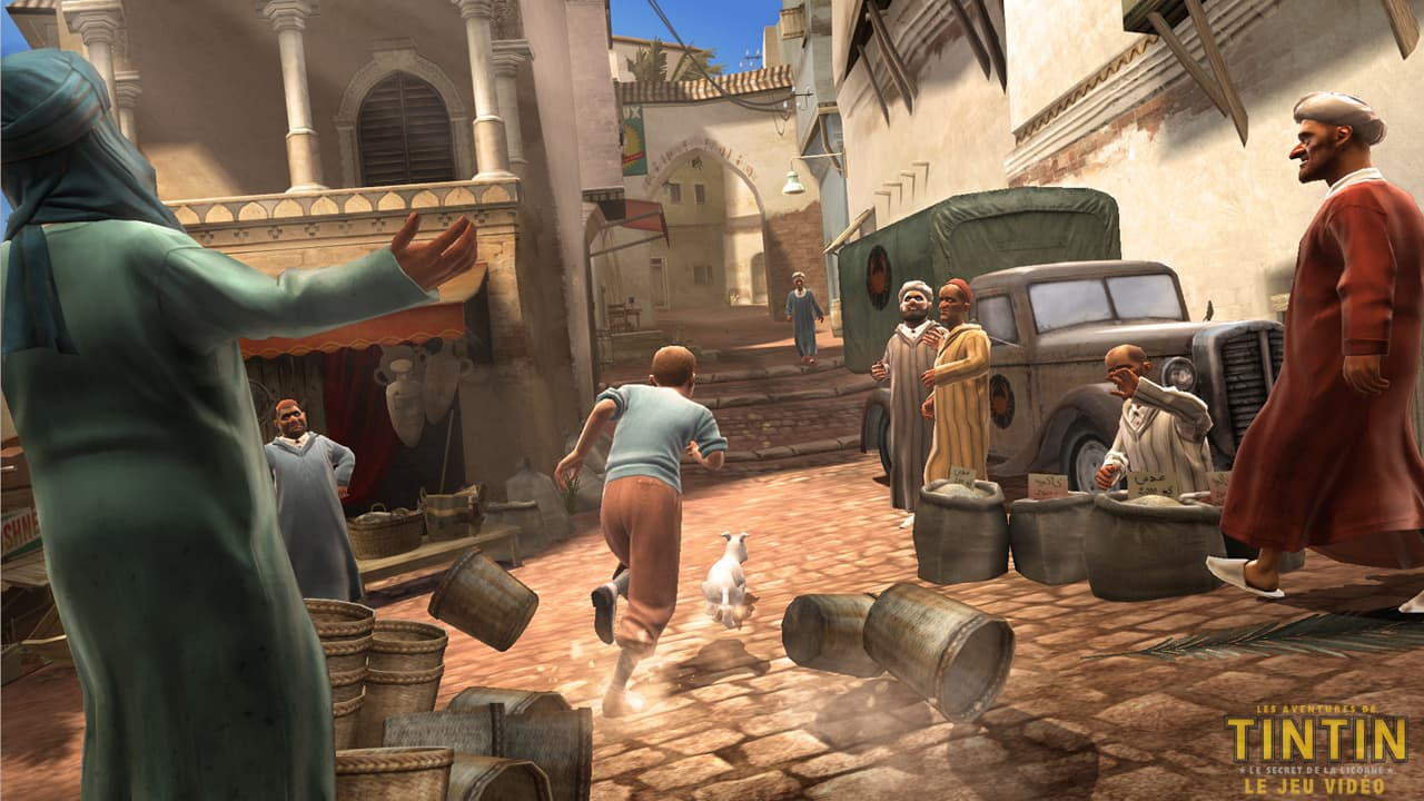 Les Aventures de Tintin: Le Secret de la Licorne Xbox