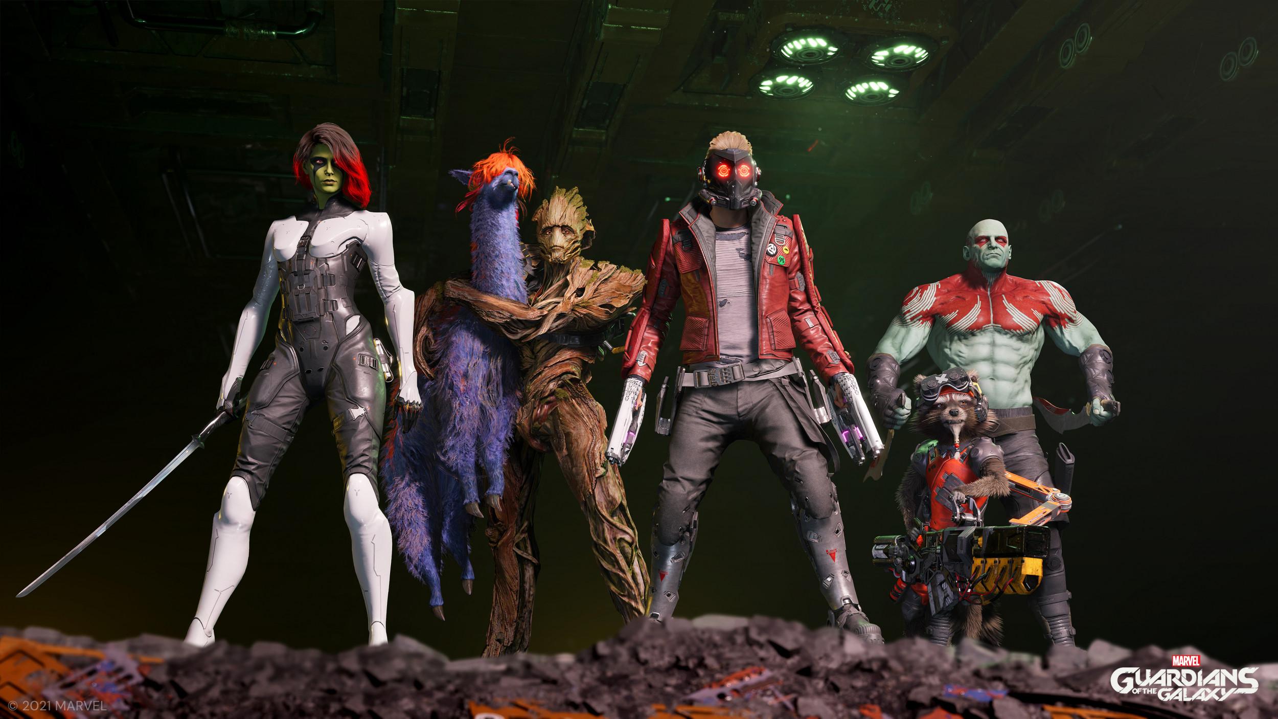 Xbox Series X & S Les Gardiens de la Galaxie