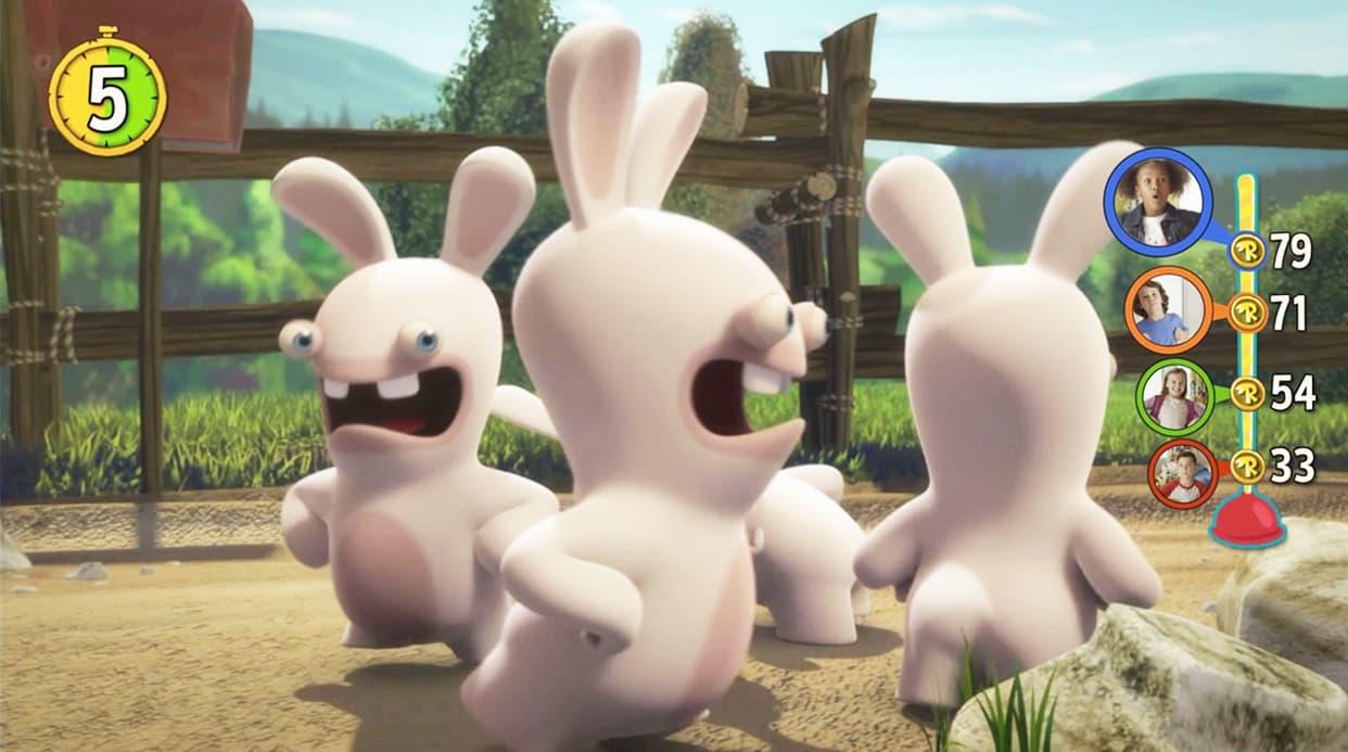 Les Lapins Crétins Invasion: La Série Télé Interactive Xbox