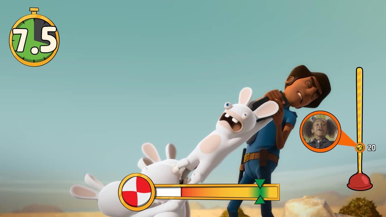 Les Lapins Crétins Invasion: La Série Télé Interactive