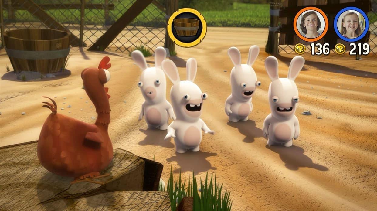 Les Lapins Crétins Invasion: La Série Télé Interactive Xbox One