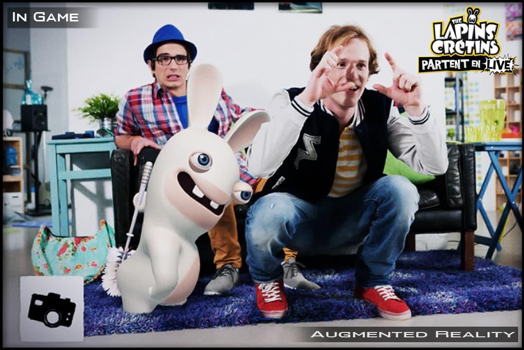 Les lapins crétins: partent en live Xbox