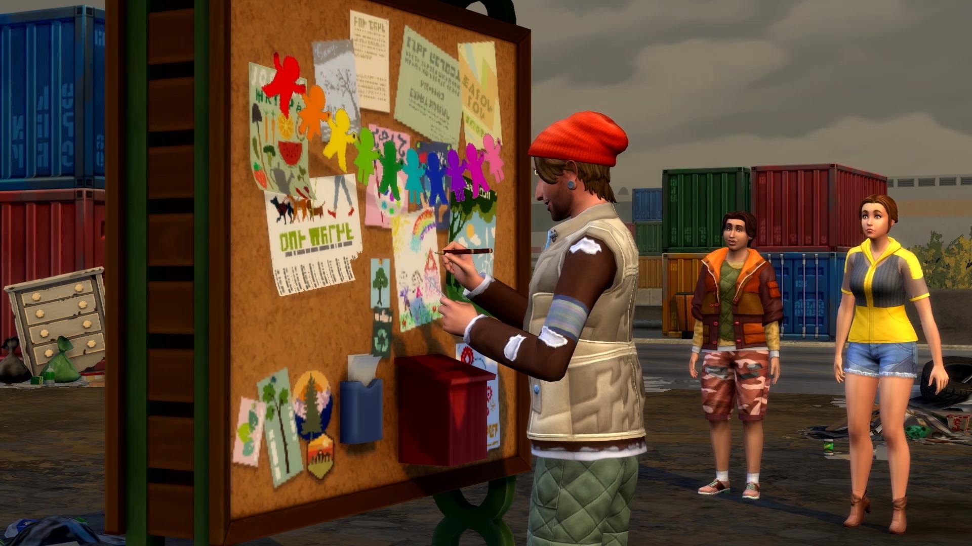Les Sims 4: Écologie Xbox