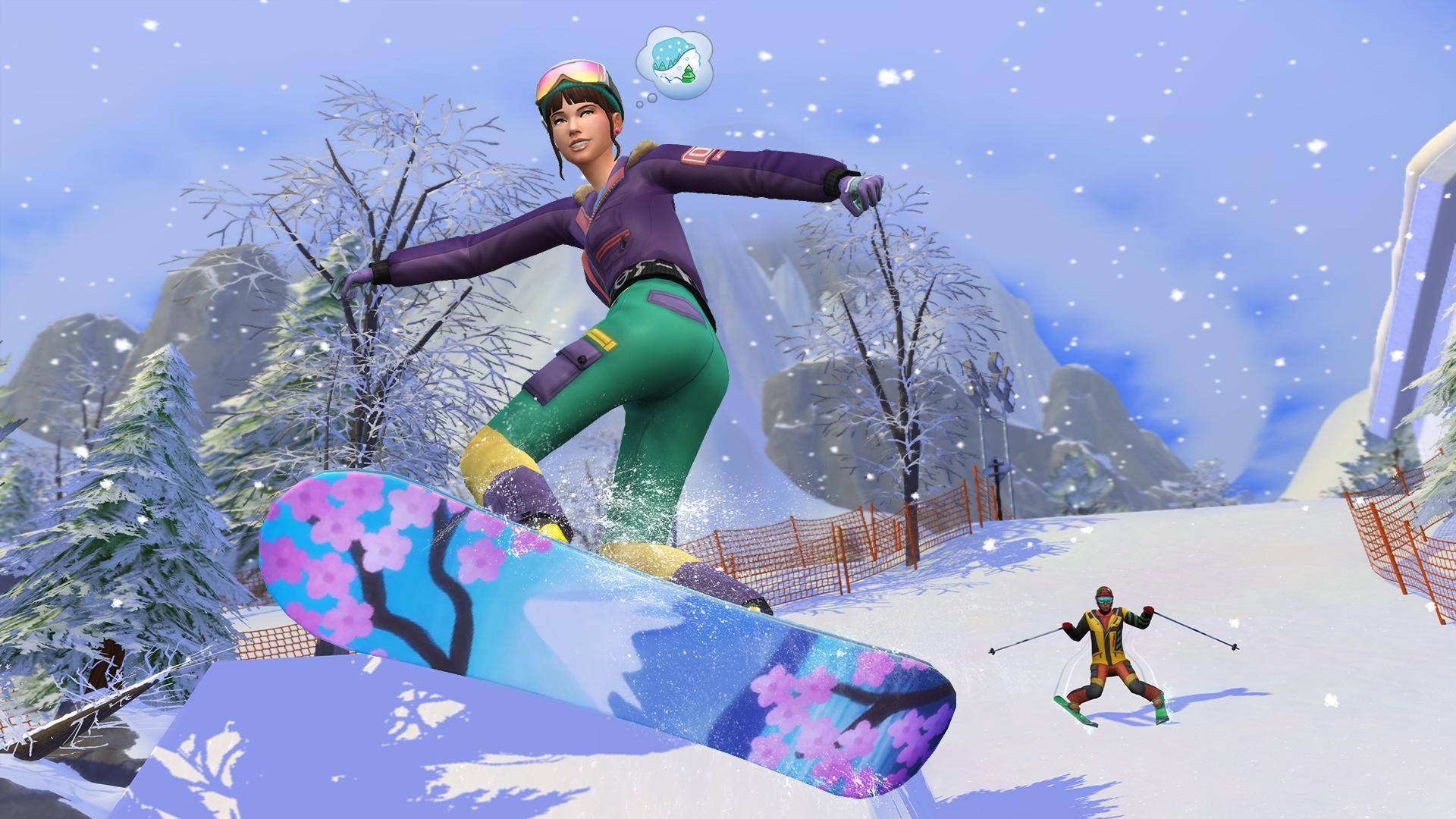 Les Sims 4: Escapade Enneigée Xbox