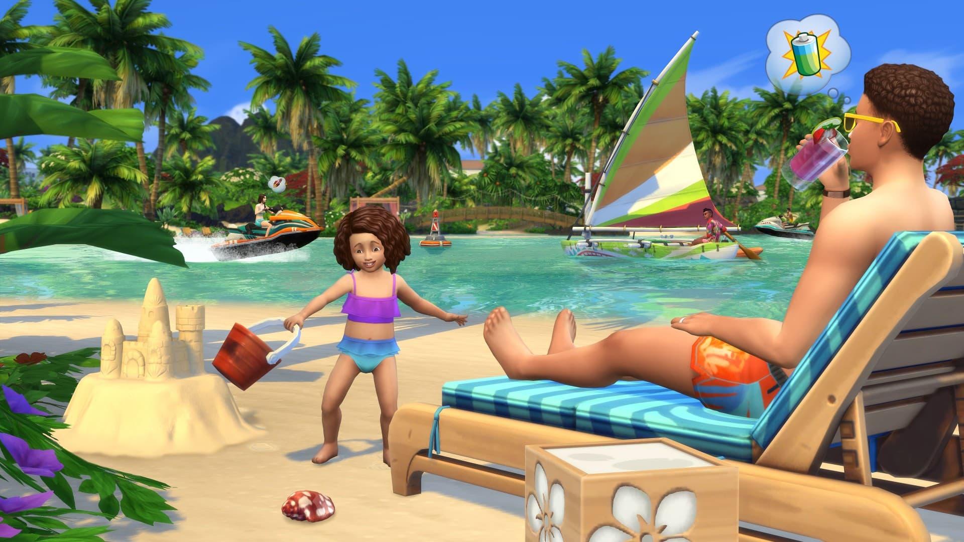 Les Sims 4: Iles paradisiaques Xbox