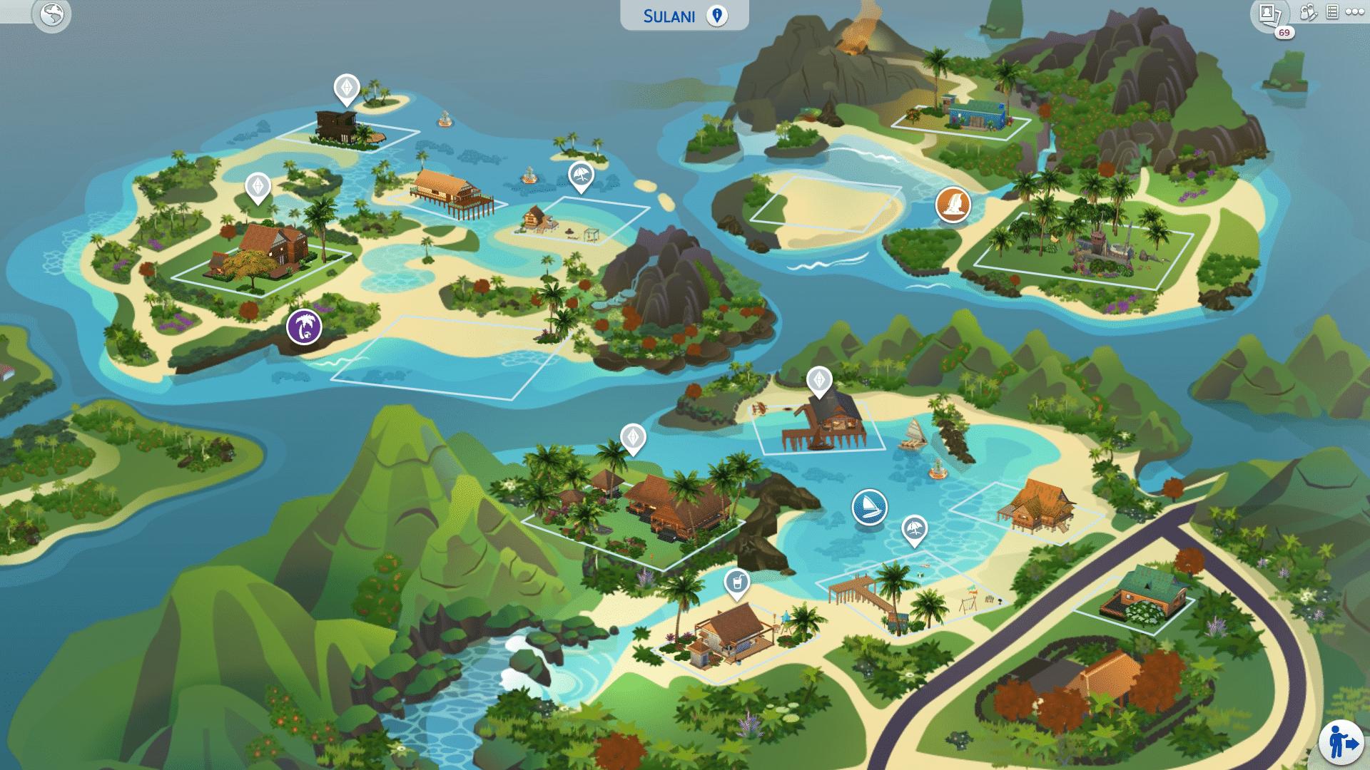 Xbox One Les Sims 4: Iles paradisiaques