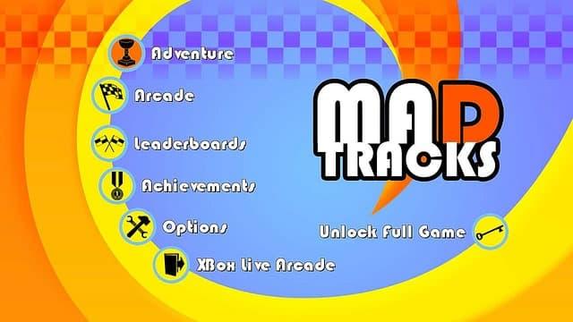 Mad Tracks Xbox 360