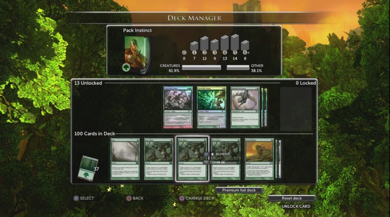 Xbox 360 Magic: The Gathering: Duels of the Planeswalkers 2013