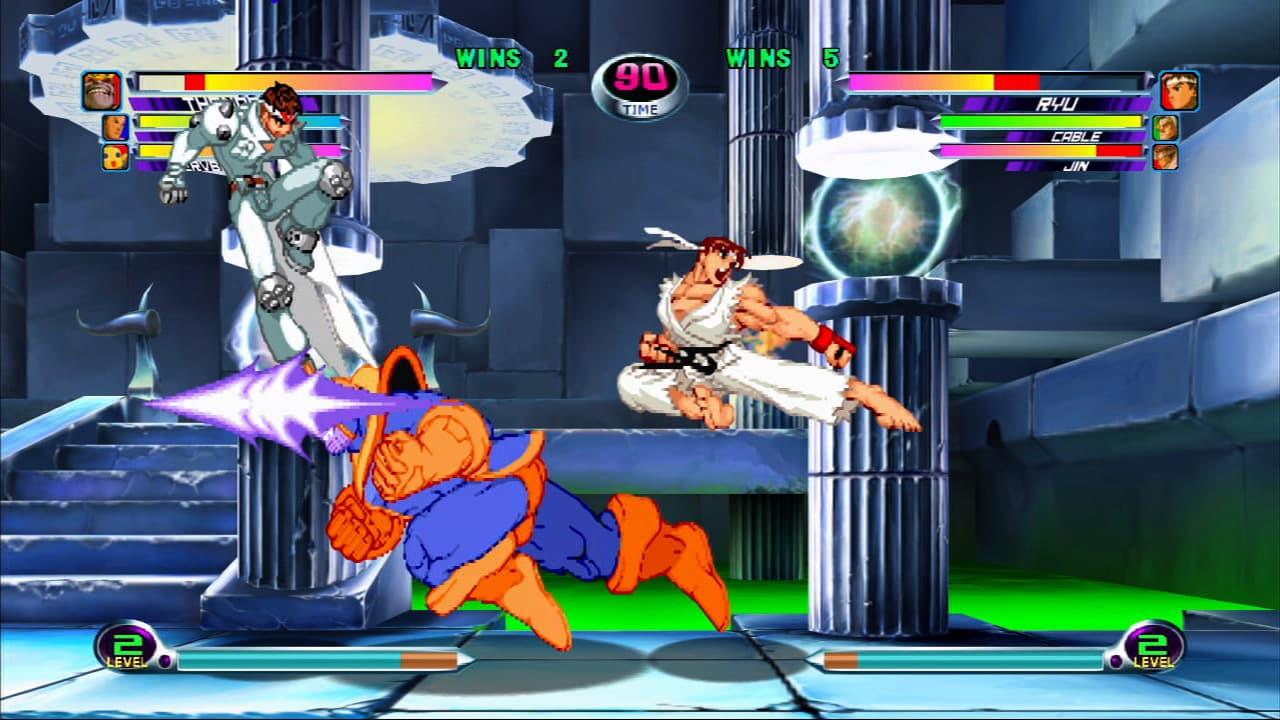 Marvel vs Capcom 2 Xbox Live