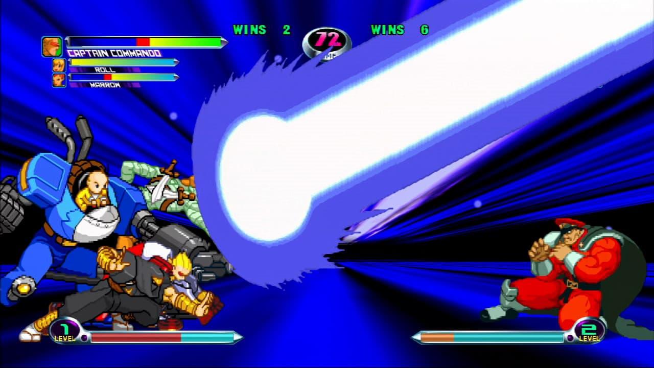 Xbox Live Marvel vs Capcom 2