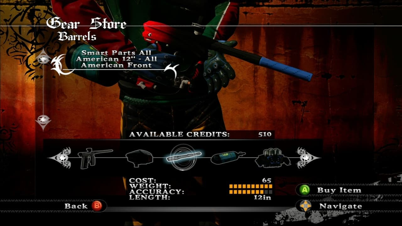 Xbox 360 Millennium Championship Paintball 2009