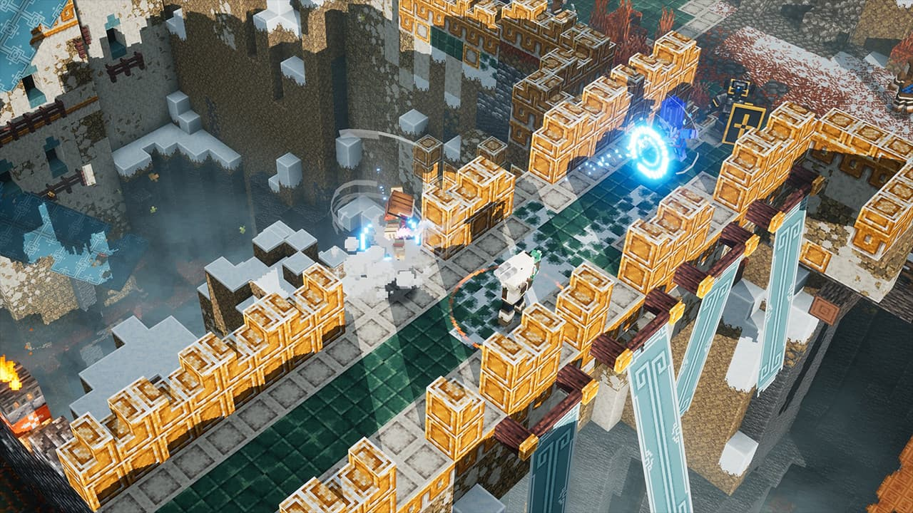 Minecraft Dungeons: Howling Peaks Xbox