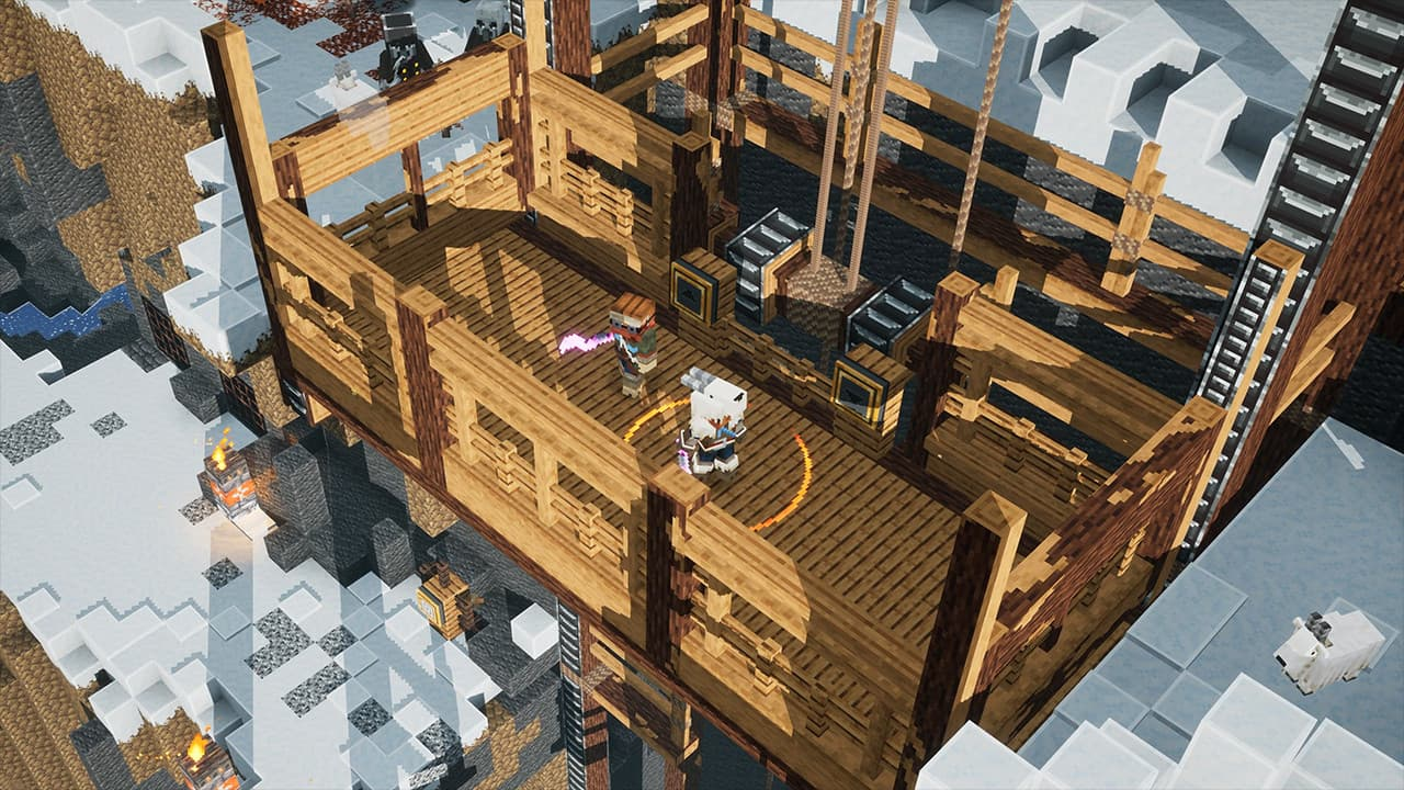 Xbox One Minecraft Dungeons: Howling Peaks